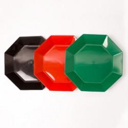 Plato ortogonal plástico